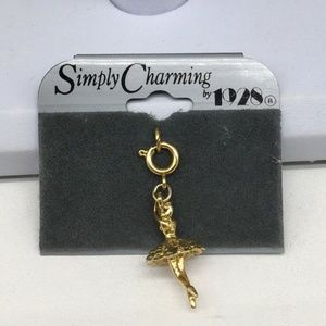 1928 Ballerina Charm Pendant For Necklace Bracelet